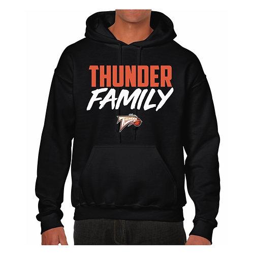 Worthing Thunder Black Hoody design 1
