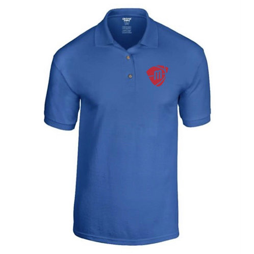 Manchester Magic & Mystics Blue Polo Shirt