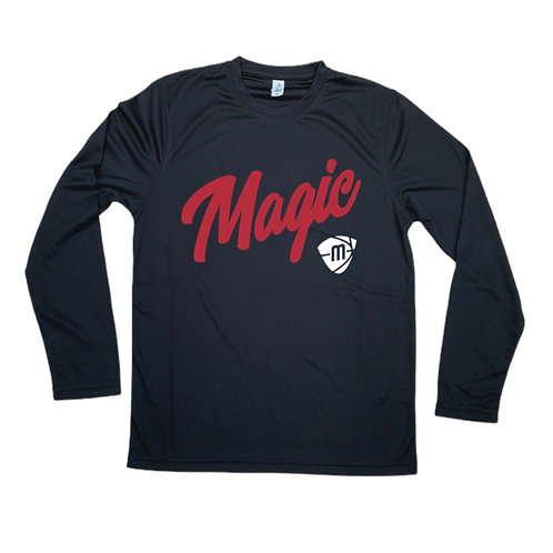 Manchester Magic Script & Logo Long Sleeve Shirt