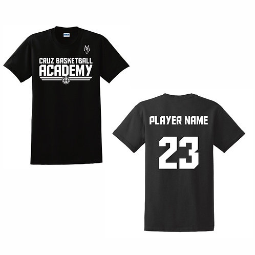 Cruz Basketball Academy T-Shirt Design 11