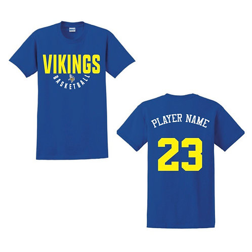 Richmond Vikings Blue T-shirt 1