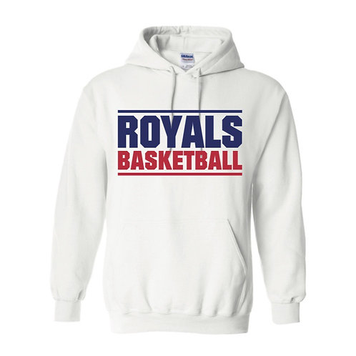 East Herts Royals White Hoody design 3