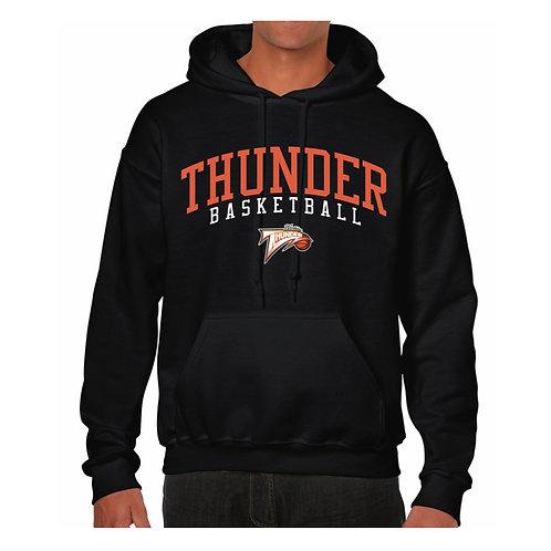 Worthing Thunder Black Hoody design 2
