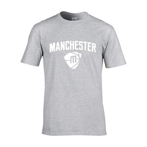 Manchester Magic & Mystics Text and Logo Sport Grey T-shirt - White