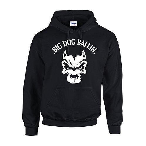 Big Dog Ballin Black big logo Hoody