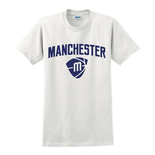 Manchester Magic & Mystics Text and Logo White T-shirt