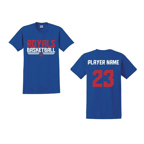 East Herts Royals - Blue T-shirt Design 5