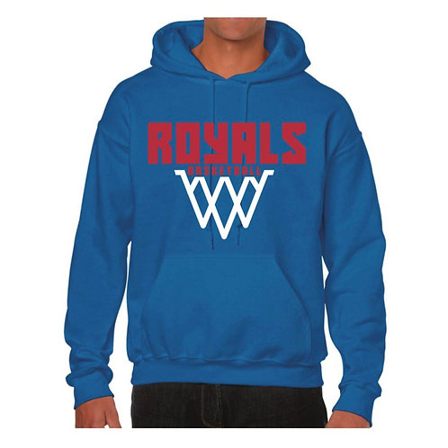 East Herts Royals Blue Hoody design 6