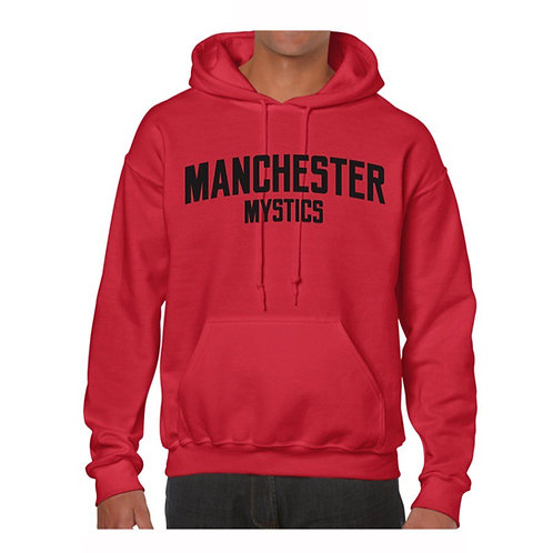 Manchester Mystics Red Hoody