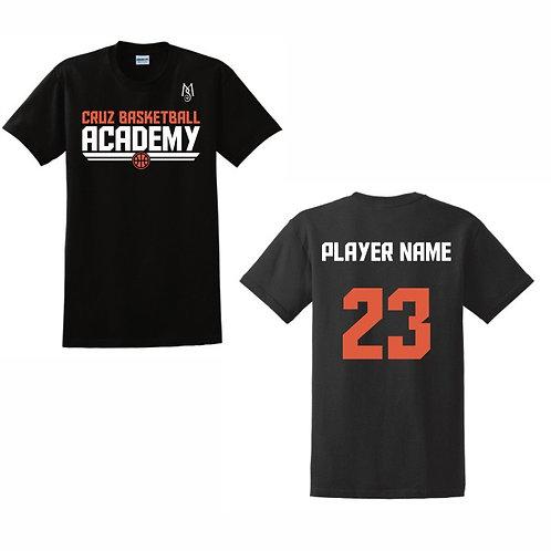Cruz Basketball Academy T-Shirt Design 4