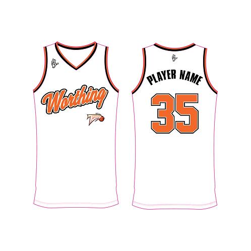 Worthing Thunder Training Jersey Design 3 - White