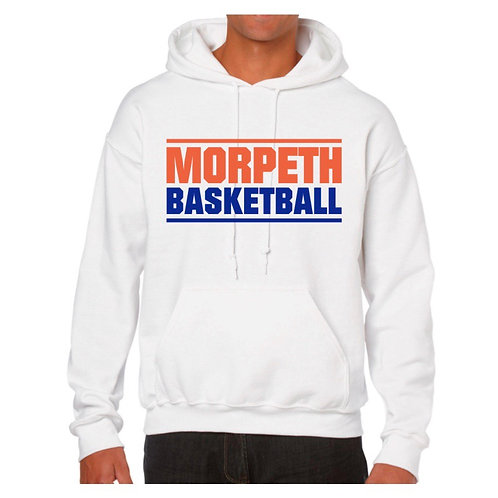 Morpeth White Hoody design 1