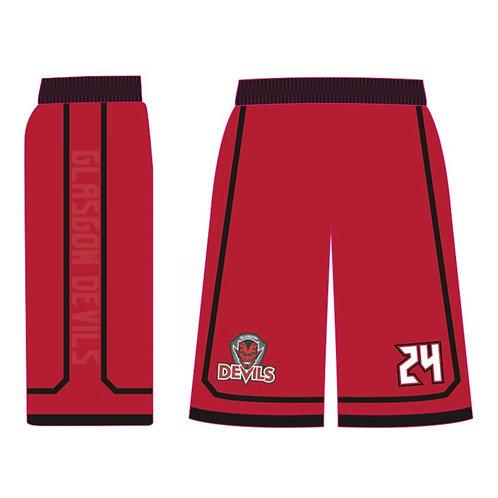 Glasgow Devils Red Shorts