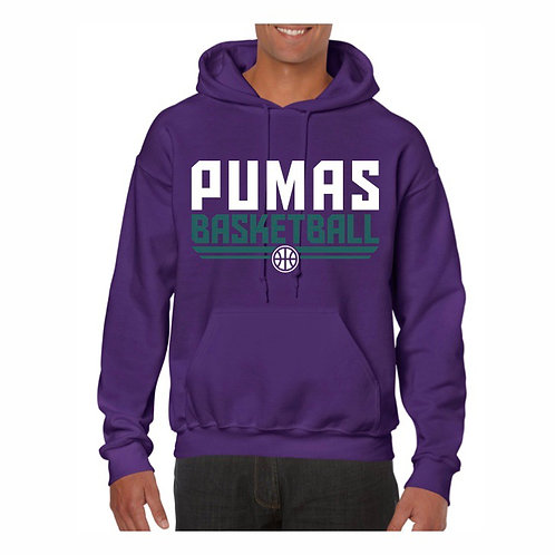 Stockton Pumas Purple Hoody design 8