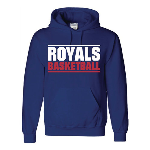 East Herts Royals Blue Hoody design 3