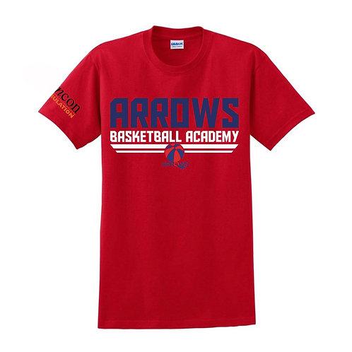 Derbyshire Arrows Red T-shirt Design 1