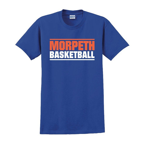 Morpeth - Blue T-shirt Design 1