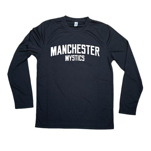Manchester Mystics Long Sleeve Shirt - White