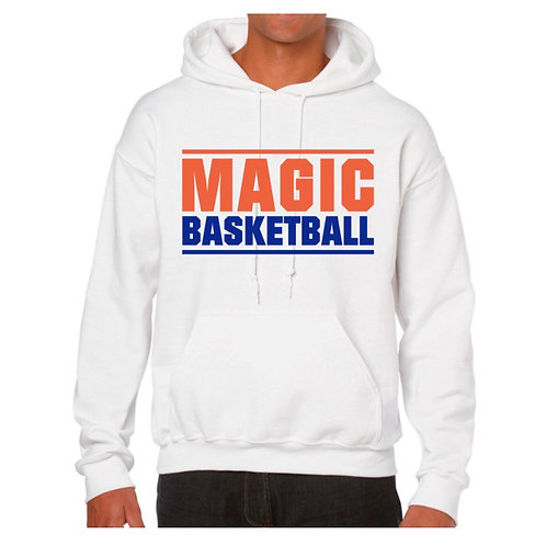 Morpeth Magic White Hoody design 1