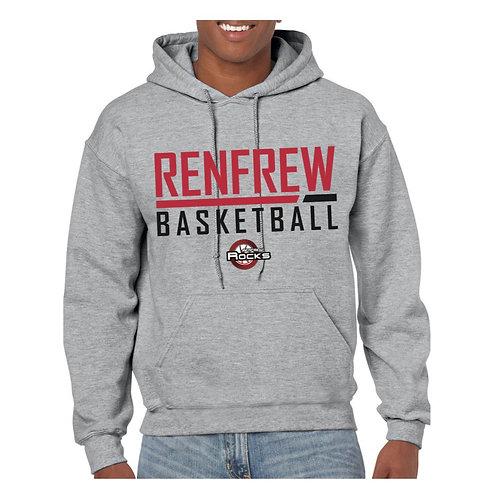 Renfrew Rocks Sport Grey Hoody 2
