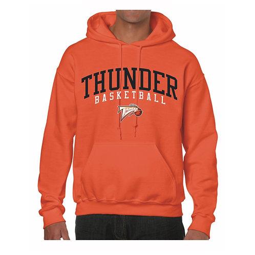 Worthing Thunder Orange Hoody design 2