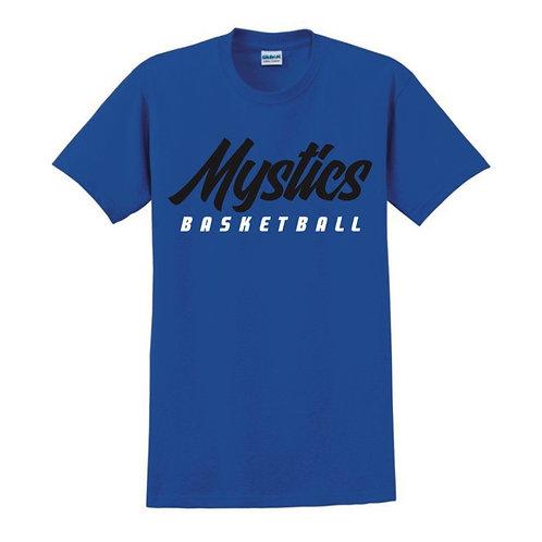Manchester Mystics Basketball Blue T-shirt