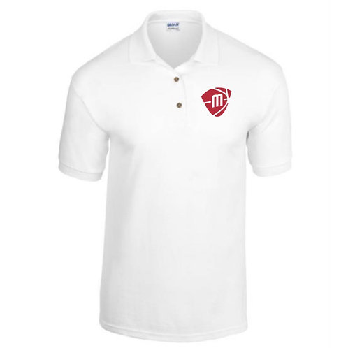 Manchester Magic & Mystics White Polo Shirt