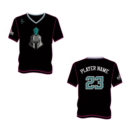 Ely Titans Shooting Shirt - Short Sleeve