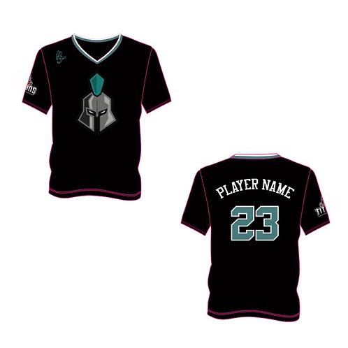 Ely Titans Shooting Shirt - Short Sleeve