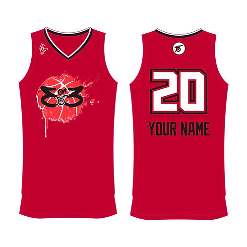 Cannons Basketball 3X3 vest - Red