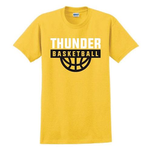 Three Towns Thunder Yellow T-shirt