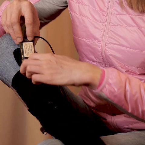 Se hva Birgit Skarstein synes om våre knestrømper!
