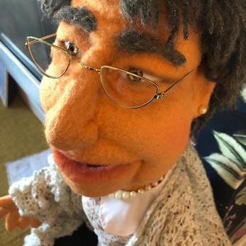Doris - Hand/rod Puppet