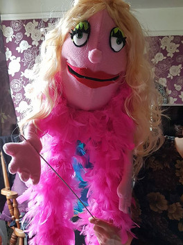 Lucy - Hand/Rod Puppet