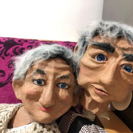 Eileen and Ivor - Bunraku