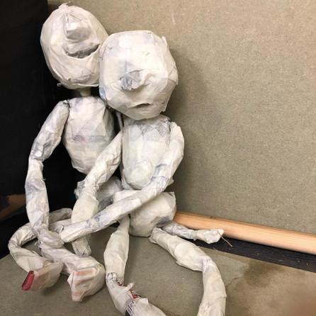 The two children- Workshop Puppet