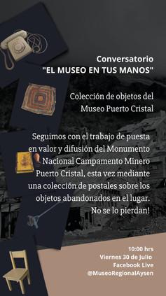 Invitación a conversatorio - Museo de Puerto Cristal.jpg