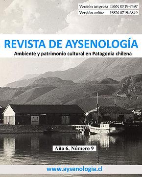 Portada Aysenologia año 6, Numero 9