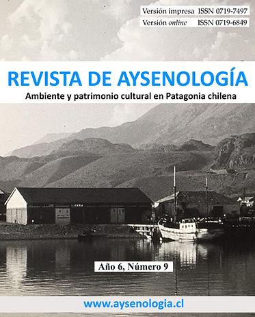 Portada Aysenologia año 6, Numero 9 P1.j
