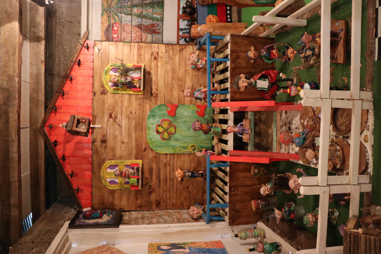 Casa de gnomos, duendes y elfos.
