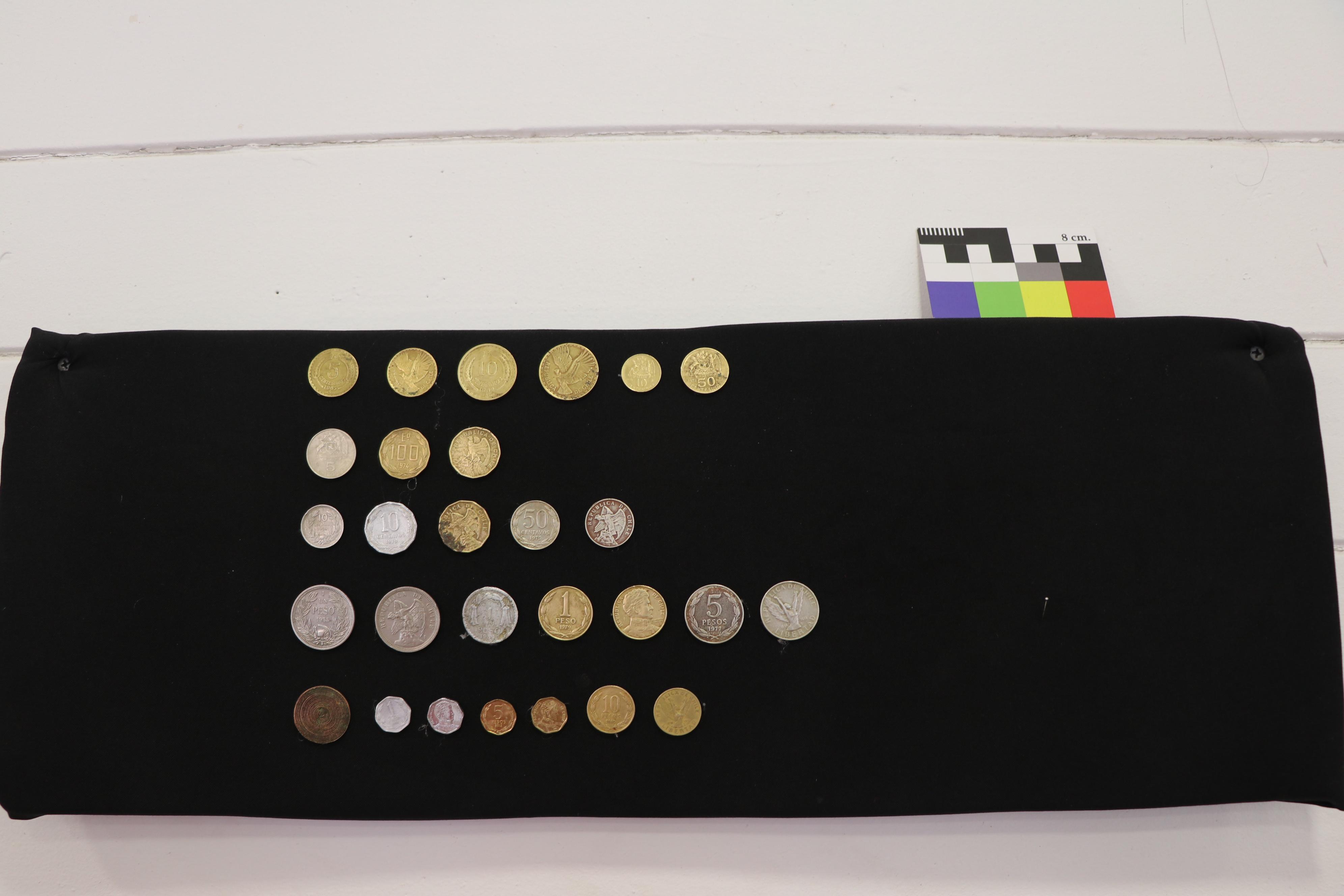 Monedas chilenas antiguas