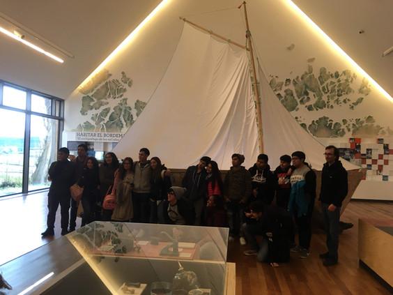 Visita Melinka al Museo Regional