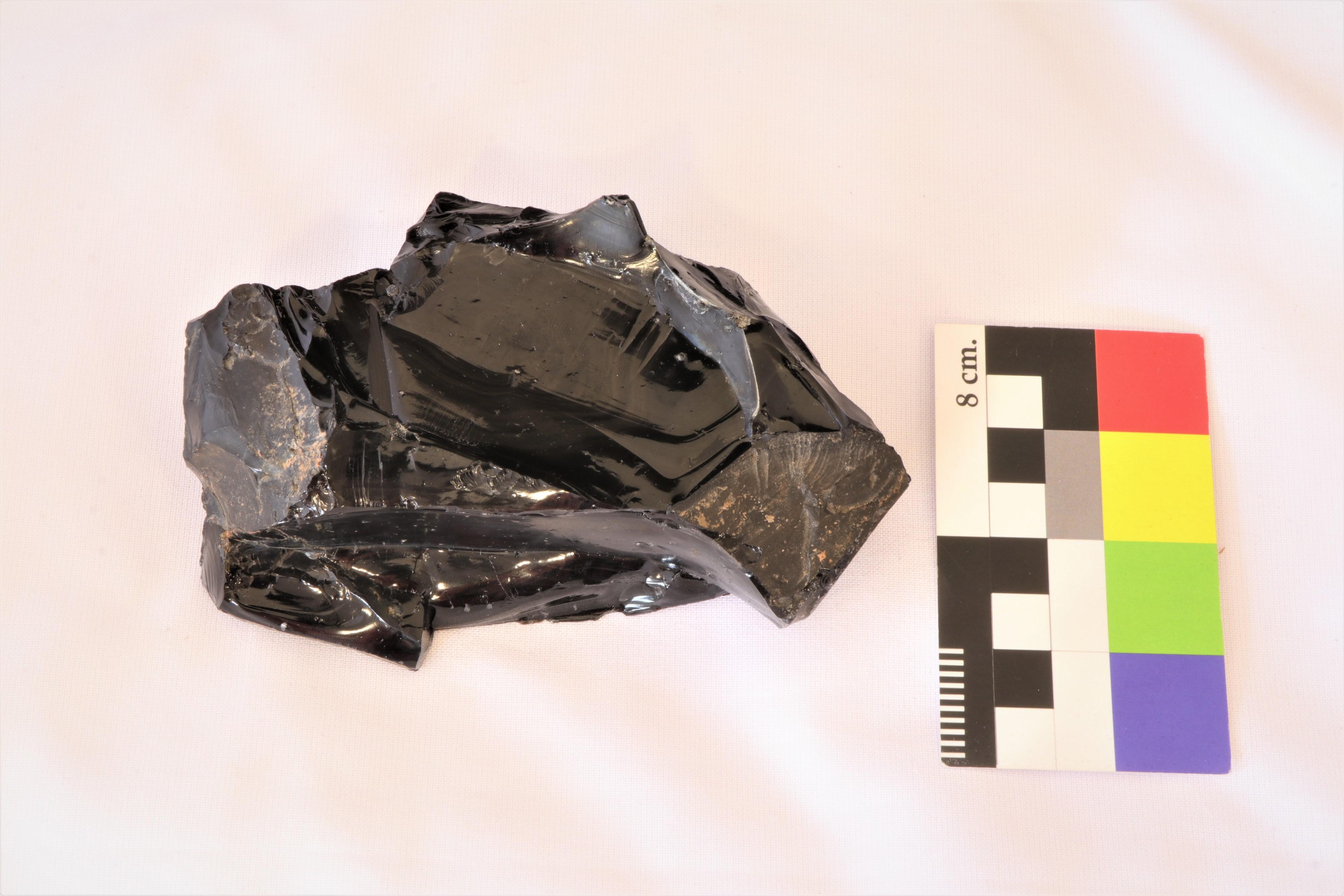 Núcleo de obsidiana