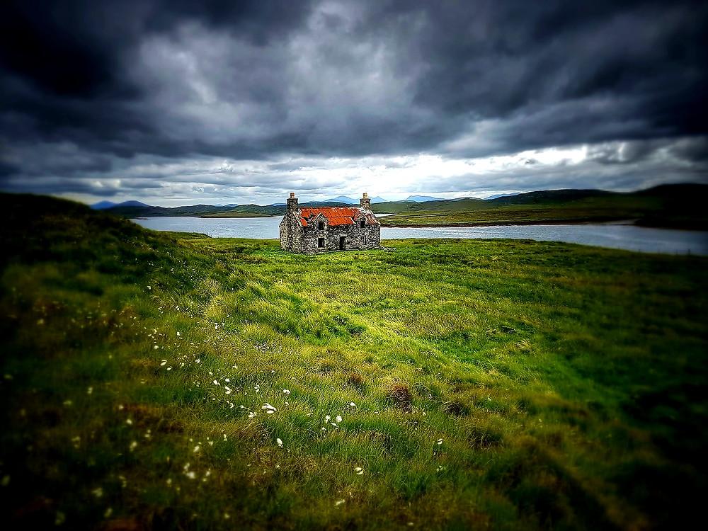 The house on Harris