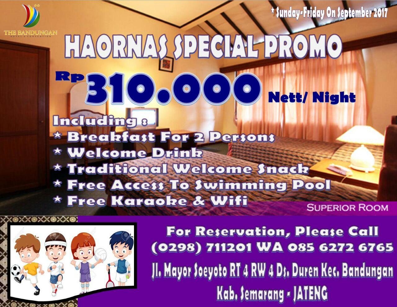 Haornas Special Promo
