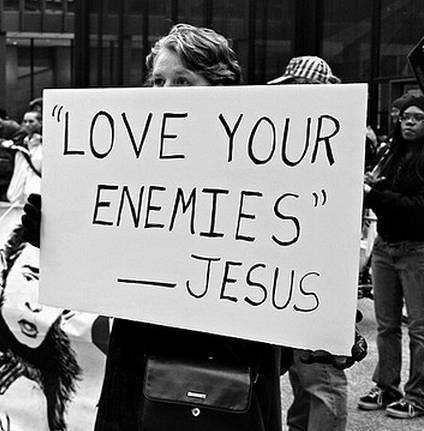 Love Your Enemies. Its the Answer