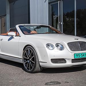 Bentley Continental GTC - PWF Matte Diamond White