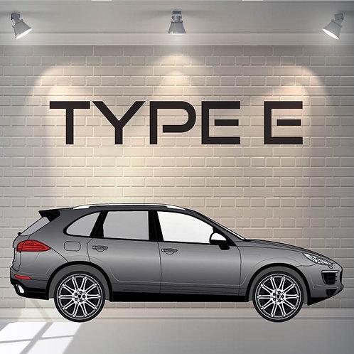 Car Wrapping Type E