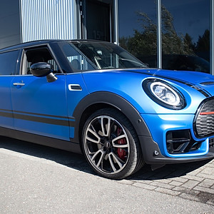 Mini Countryman - Matt Titanium Blue