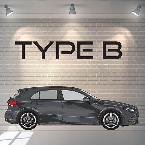 Car Wrapping Type B